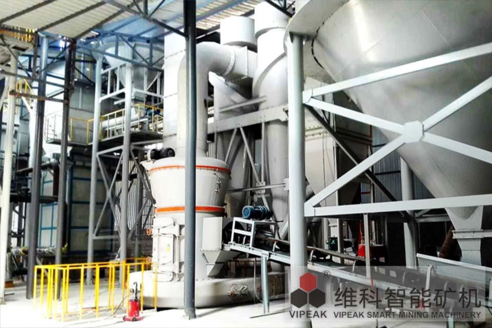 云南YCVXO138V型磨石膏粉生产线