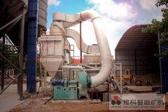 直击现场| 年产10万吨石灰石磨粉生产设备落户安徽